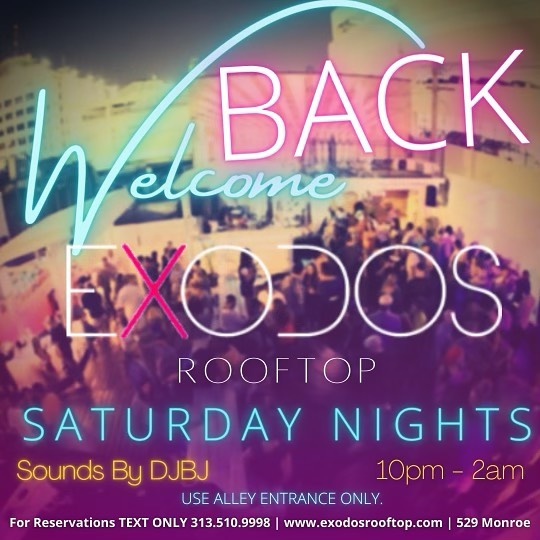 Exodos Rooftop WElcome Back